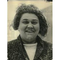 1922 Press Photo Etta Heine Loses Weight