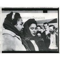 1959 Press Photo Black Students Register at Warren County High School (WSLS)