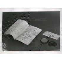 1938 Press Photo Swedish Constitution on display in Philadelphia
