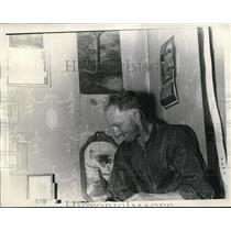 1938 Press PhotoJohn Sebastian Cape Girardeau mo faces deportation from Flint