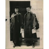 1918 Press Photo Honorary Degrees to Sec. Lansing and Ambassador Reading
