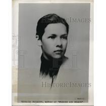 "1935 Press Photo Virginia Faulkner arthur of ""Friends and Romans"""