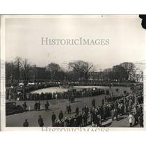 1931 Press Photo Hunger Marchers Refused Entrance to Capitol - nec97020
