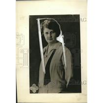 1928 Press Photo Anna Trentham organiser of Radio Cooking club