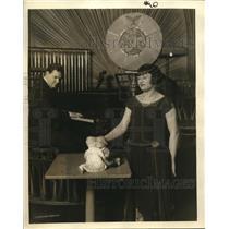 1932 Press Photo Marionettes - nex10792