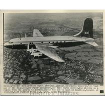 1948 Press Photo Tudor Airlines Missing on a flight from Azores to Bermuda