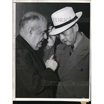 1941 Press Photo Toraichi Kono at hearing on espionage charges.