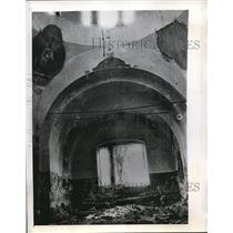 1943 Press Photo A Zalegoshch Russian church was demolished by Nazi squads