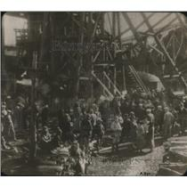 1926 Press Photo Mine disaster at Wilmington creek ,Oklahoma - nex11105