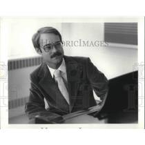 1981 Press Photo Larry Baker, Composer Dir of Contemporary Music ensemble