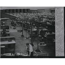 1955 Press Photo Hughes Aircraft Co.