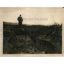 1922 Press Photo Sinn Feiners Destroy Bridge Leading From Fivemiletown into Ross