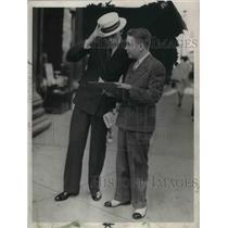 1933 Press Photo Peter Bellamy. - cva04605
