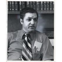 1972 Press Photo attorney Joseph A. Cipollone during an interview