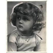 1932 Press Photo most typical Swedish boy was awarded to Lennart Sandstrom age 3