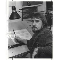 1984 Press Photo Dennis Eberhard Composer for the Ohio Chamber Orche