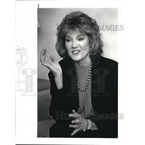 1988 Press Photo Christine Craft TV Anchor Person