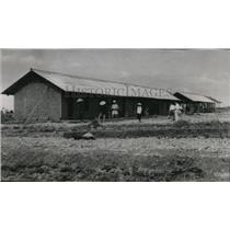 1953 Press Photo Building in Tong Quong ,Vietnam