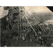 1926 Press Photo Mine disaster at Wilmington Creek ,Oklahoma