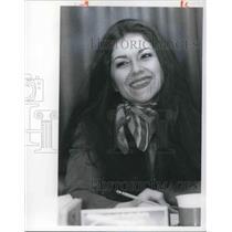 1977 Press Photo Francesca DeCapua WQAL FM Radio Sales.