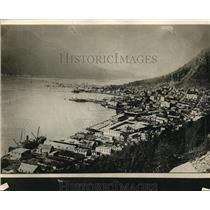 1923 Press Photo Juneau Alaska Visited By President