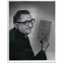 1966 Press Photo Joseph Brandt