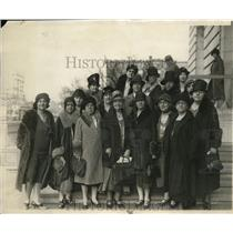 1930 Press Photo Prominent women dry leaders in Washington