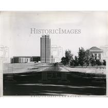 1938 Press Photo State Capitol in Bismark, North Dakota