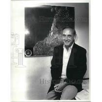 1984 Press Photo Lewis S. Albert Superintendent of Cuyahoga Valley - cva02703