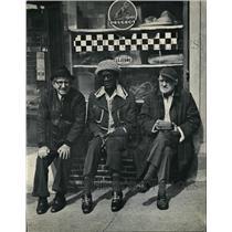 "1977 Press Photo Three Veterans ""The Patriarchs""of Spirit of Conventry Village."