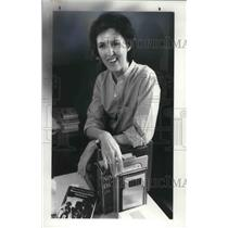 1982 Press Photo Playwright and Feminist, Lee Ballinger-Longo