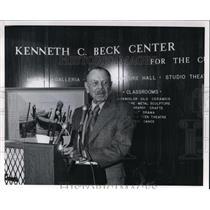 1974 Press Photo Kenneth C. Beck