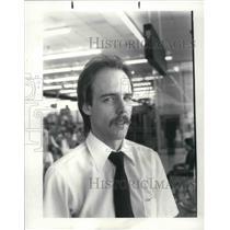 1984 Press Photo Kroger Unionist, Steve Britton