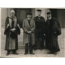 1922 Media Photo Auckland Geddes. Eliuh Root, Emeritur Wheeler and David Barrows