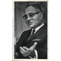 1971 Media Photo Dr. Ralph Bunche First Black Nobel Peace Prize Winner