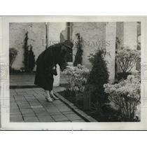 1923 Press Photo Fountain Garden designed by Queen of Spain, Ideal Home Expo