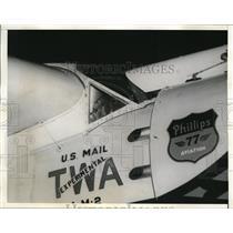 1935 Media Photo Minnie Mae Airplane Before Take Off