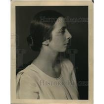 1930 Media Photo Mrs. Willoughby Gundry of Texas
