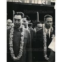 1965 Media Photo Communist Chines Premier Chou En Lai arrived in Indonesia