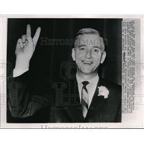 1963 Media Photo Bertram Powers, New York Printers Union President