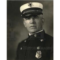 1923 Press Photo A. J. Trodick, Fire Chief of Great Falls