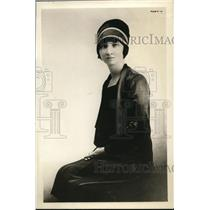 1927 Press Photo Mrs. Roscoe Anderson, National League of Women Voters