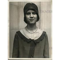 1930 Media Photo Miss Constance Payne Terre Haute Ind Jr Red Cross