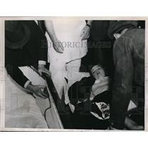 1935 Media Photo LA Calif GGloria Graves  who lived in a coffin in a stunt