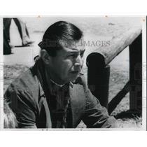 1977 Media Photo Harris Arthur, Navajo Indian heads Shiprock Research center