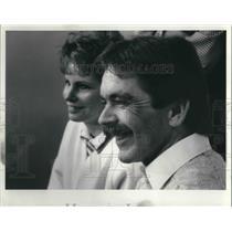 1989 Media Photo Terri L. Burkhard and husband William T. Lottery winners