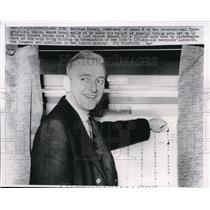 1963 Media Photo Bertram Powers, New York Printers Union President - ned14625