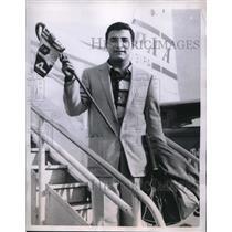 1958 Media Photo Claude Medjar Traveled Around The World