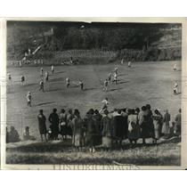 1931 Press Photo Bryn Mawr All Philadelphia field hockey in Pa - nes20911