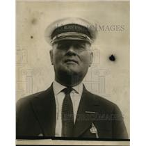 1923 Press Photo Capt. A. H. Mac Lachlan, Capt. of the City of Buffalo